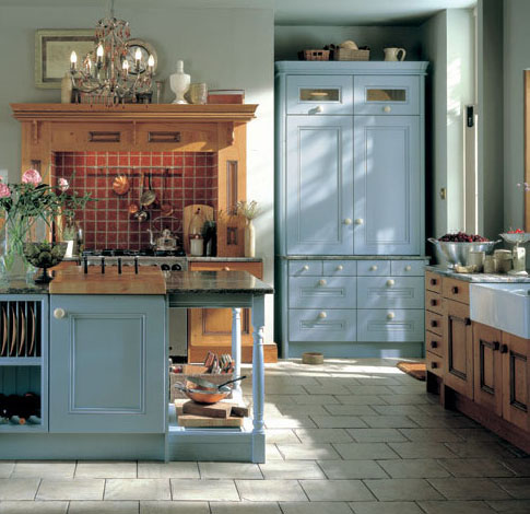 Painted Inframe Easy Kitchen Furniture